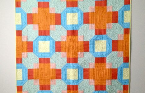 My free quilt pattern is up!