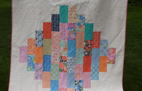 "A new-old free quilt pattern, ""Oculus"""